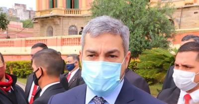 """La Nación / """"No voy a priorizar el electoralismo, voy a priorizar mi gestión"""", dice Mario Abdo"""