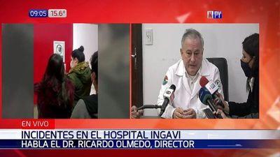 Director de IPS Ingavi asegura que no hay más imágenes sobre incidente