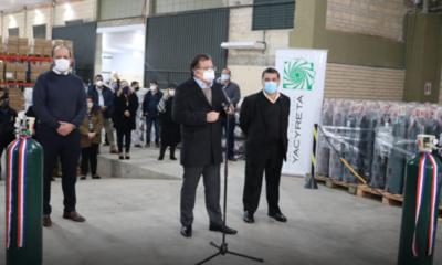 EBY entrega a Salud 500 balones de oxígeno para fortalecer servicios respiratorios de hospitales