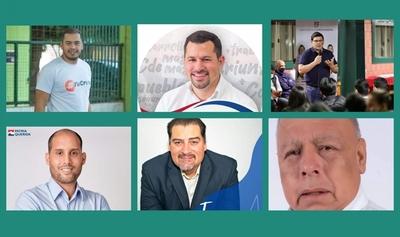 Seis candidatos buscarán ocupar la silla comunal en CDE