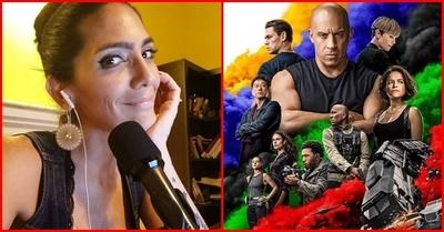 ¡Increíble! Lucía Sapena entrevistará a 2 protagonistas de la saga Rápidos y Furiosos