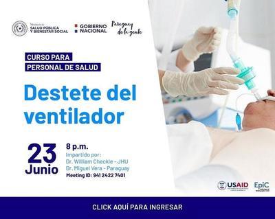 Actualizarán al personal de salud en desconexión de ventilación mecánica – Prensa 5