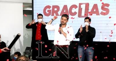"""La Nación / """"No tenemos la varita mágica, pero sí la voluntad política"""", dice """"Nenecho"""" tras su victoria"""