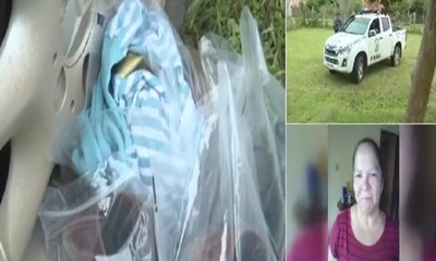 Hallan el cadáver de una mujer en Pirayú