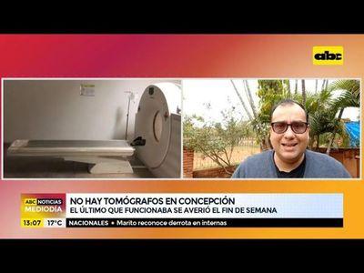 No hay tomógrafo en Concepción