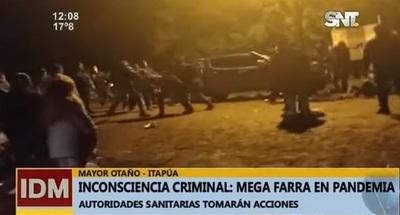 """Itapúa: """"Farra"""" y peleas tras elecciones preocupan a médicos"""