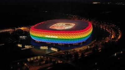 UEFA rechaza iluminar el Allianz Arena con los colores LGBTIQ+