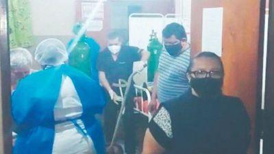 Docente que dio su oxígeno para salvar a otro paciente salió hoy de alta
