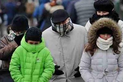 El invierno se presentará con temperaturas cercanas a 0 ºC