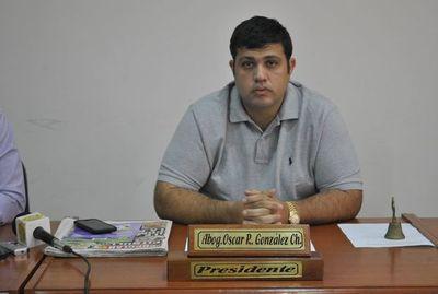 Hijo del exsenador González Daher quedó en segundo lugar tras las internas municipales