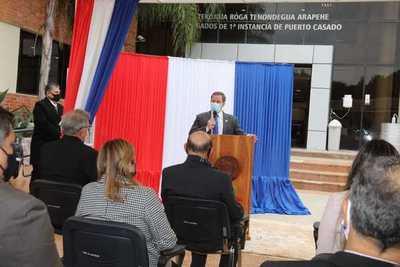 Habilitan Expediente Judicial Electrónico en Puerto Casado