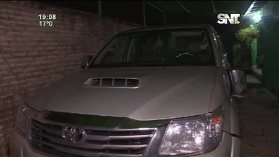 Areguá: Comerciantes escapan de asaltantes
