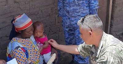 La Nación / LN live: la vida de un uniformado como observador militar