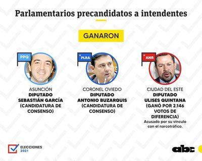 De siete legisladores, sólo tres superaron las elecciones internas