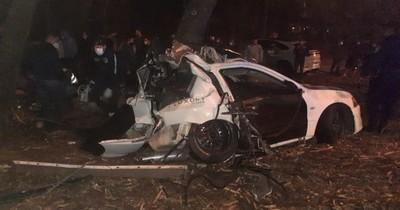 La Nación / Grave accidente en Luque deja un fallecido y un herido