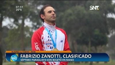 Rumbo a Tokyo 2020: Fabrizio Zanotti, clasificado