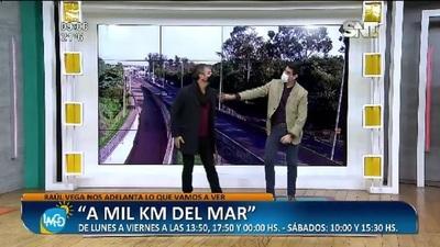 Raúl Vega nos adelantó lo que vamos a ver en 'A mil KM del mar'