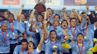 Los tres máximos campeones de la Copa América