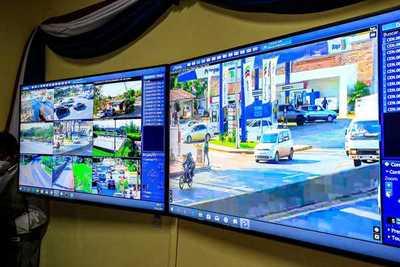 Inauguran segundo centro de monitoreo policial con cámaras de videovigilancia en Capiatá