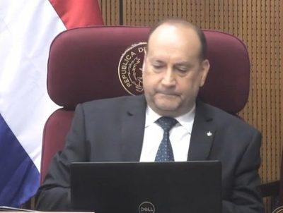 Óscar Salomón niega intromisión de Mario Abdo Benítez en su reelección · Radio Monumental 1080 AM