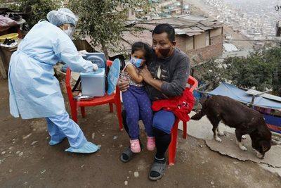 """Latinoamérica urge """"ponerse al día"""" en los esquemas de vacunación"""
