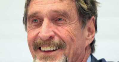 Aprueban la extradición de John McAfee a Estados Unidos por evasión de impuestos