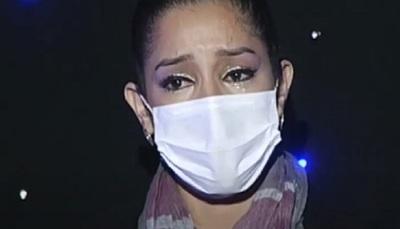 """Shirley Brítez del """"Canta"""" rompió en llanto en pleno vivo"""