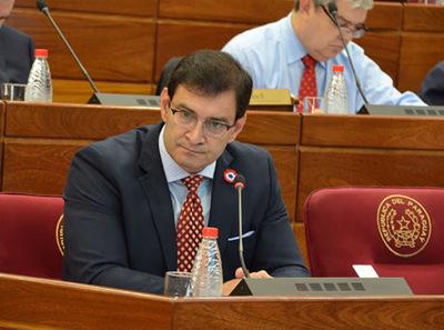 Ovelar dice que prefería a 'Kalé' Galaverna para la Presidencia del Senado