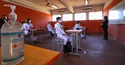 La Nación / Platean apuntar al retorno a clases presenciales para la recuperación económica