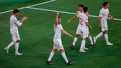 Resumen del partido España 5-0 Eslovaquia