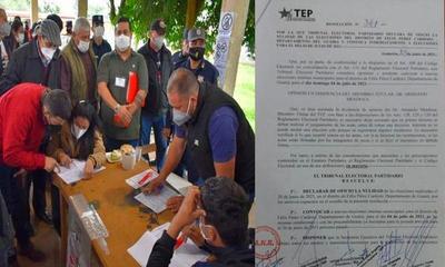 Tras denuncias de presunto fraude anulan elecciones de la ANR en Félix Pérez Cardozo – Prensa 5