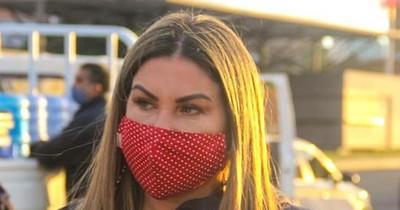 "La Nación / ""Marito es un criminal al despedir a nombrados que votaron mí"", denuncia Cynthia Romero de Argaña"