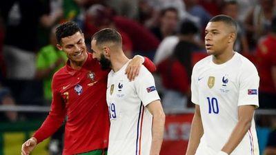 El pulso entre Cristiano y Benzema deja a Portugal tercera