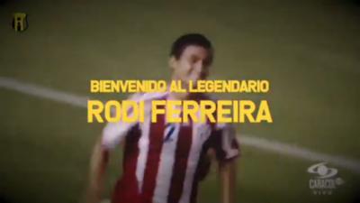 Rodi Ferreira, presentado oficialmente como jugador de Guaraní