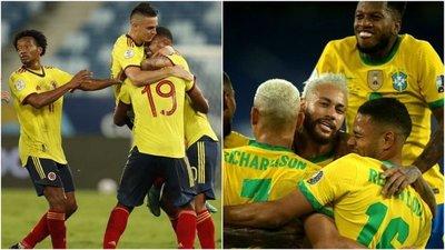 Brasil enfrenta a Colombia desde las 20:00