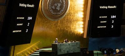 La Asamblea General rechaza una vez más de forma abrumadora el bloqueo a Cuba