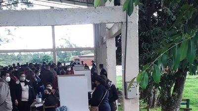 Elecciones coloradas en Félix Pérez Cardozo se reanudarán el 4 de julio