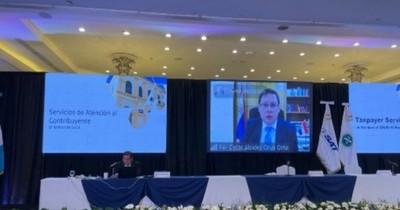 La Nación / Titular de la SET expuso sobre sistema tributario en asamblea del CIAT