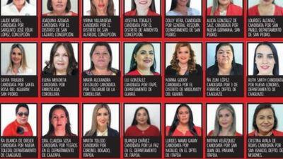 Más de 60 mujeres ganaron la puja por la intendencia