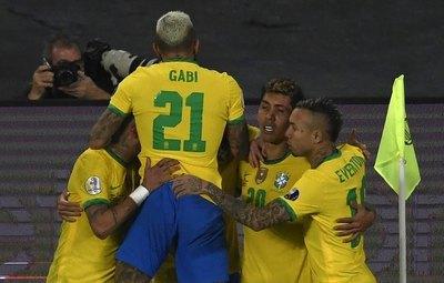 Brasil sigue con su marcha imparable en la Copa América