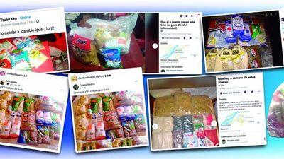 Abundan en redes ofertas de víveres que el MEC distribuye para escolares