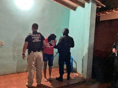 Detienen a dos personas tras allanamientos en simultáneo en Capiatá y J. Augusto Saldívar