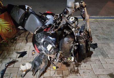 Dos aparatosos accidentes se registraron sobre la autopista Silvio Pettirossi
