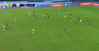 Así vio el VAR el polémico gol de Roberto Firmino ante Colombia