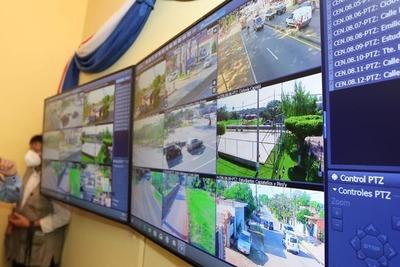 Capiatá: Inauguran centro de monitoreo con trece cámaras de videovigilancia