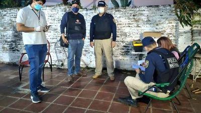 Un policía y otros detenidos por el asalto a intendente de San Antonio