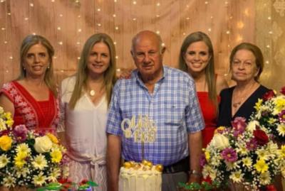 Falleció madre del secuestrado Óscar Denis