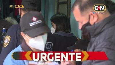 Policía fue detenido tras allanamientos en Ñemby por varios atracos