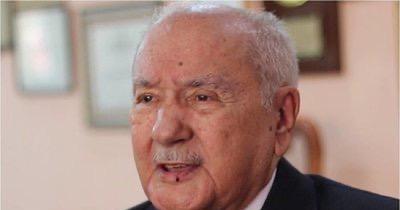 La Nación / A los 96 años fallece Ramón Artemio Bracho, impulsor del Día de la Amistad