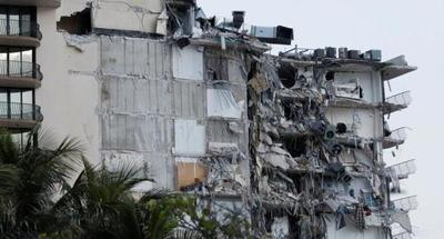 Al menos un muerto en el derrumbe parcial de un edificio en Miami